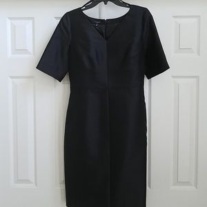 Talbots silk short sleeves dress